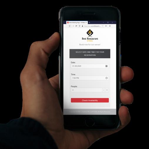 Ai-Booking online restaurant reservation management