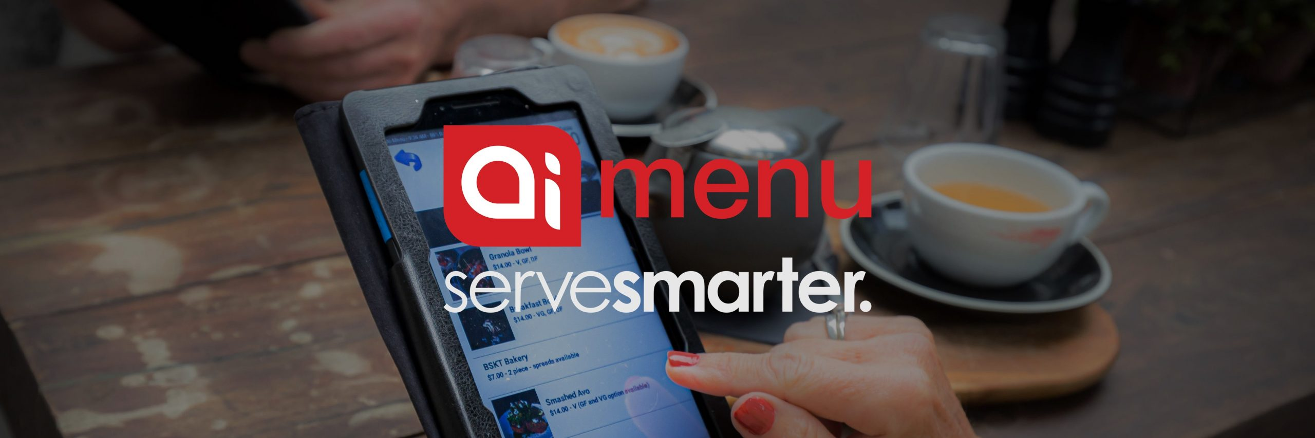 Ai Menu is a hospitality technology innovator in POS digital menus online sales kiosks for restaurants cafes bistros fast food
